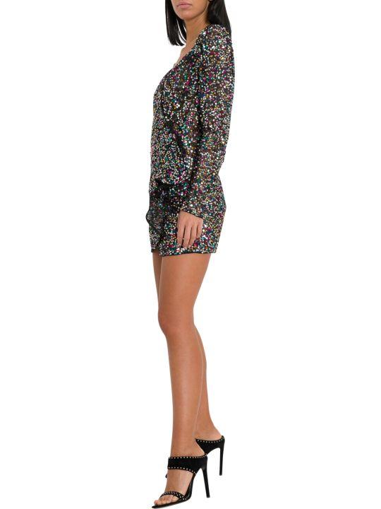 ATTICO Mini Wrap-dress
