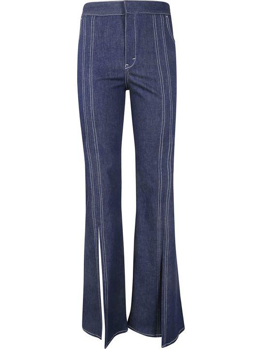 Chloé Front Slit Jeans