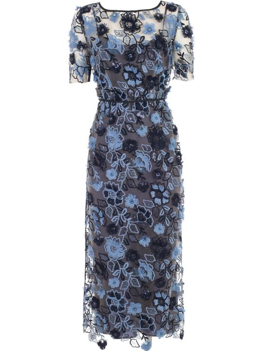 Antonio Marras Dress S/s Pencil W/flower