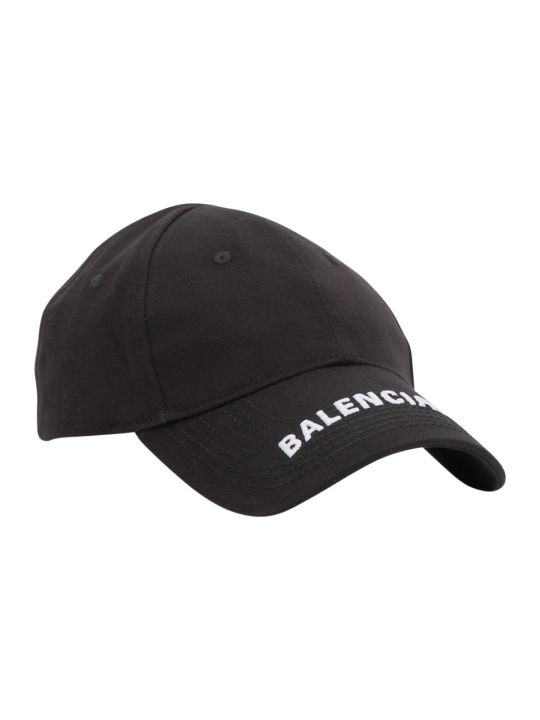 Balenciaga Baseball Cap With Embroidered Logo Peak
