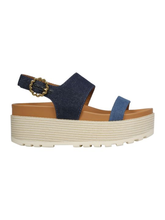 See by Chloé Side-buckled Platform Sandals