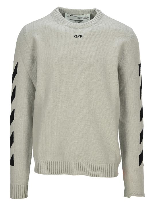 Off-White Off White Diagonal Knitwear