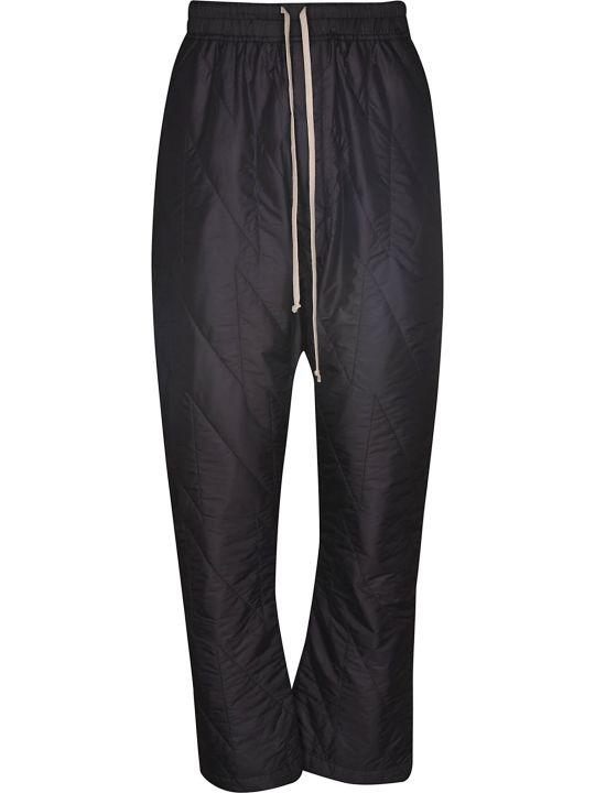 DRKSHDW Drawstring Long Padded Trousers