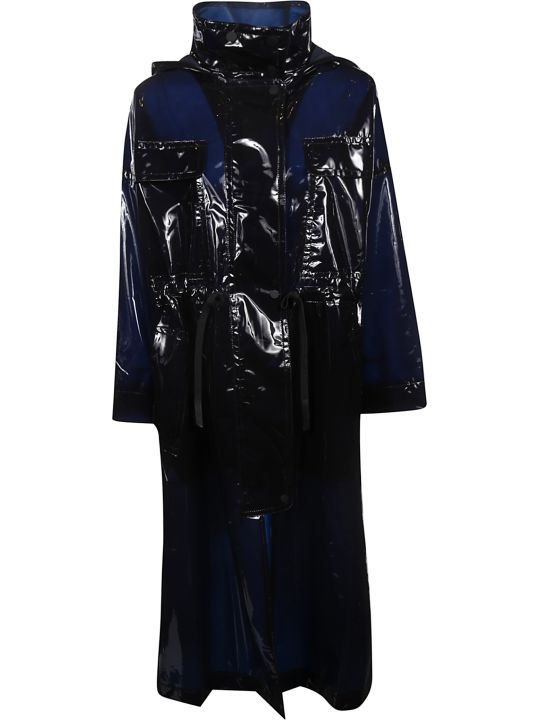 SportMax Drawstring-waist Raincoat