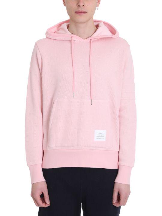 Thom Browne Pink Cotton Hoodie