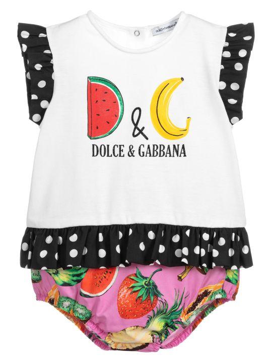 Dolce & Gabbana Multicolor Rompers Dolce&gabbana Kids