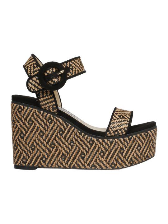Jimmy Choo Abigail Wedge Sandals
