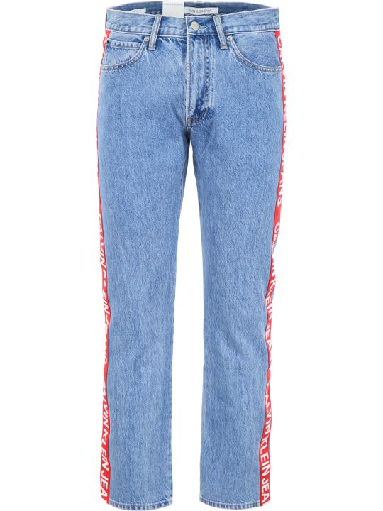 Calvin Klein Jeans Jeans With Side Logo