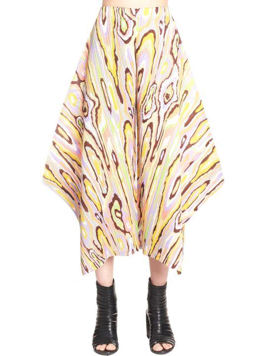 Pleats Please Issey Miyake 'wooden Pattern' Pants