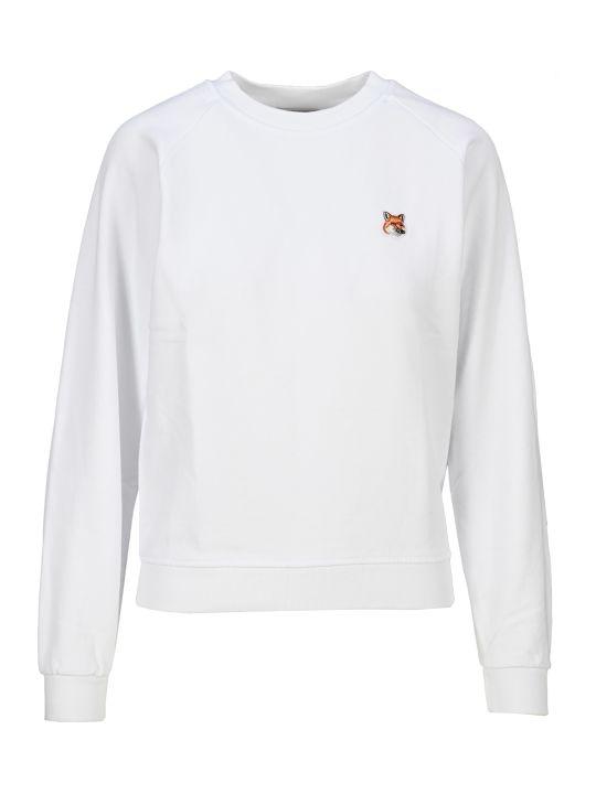 Maison Kitsuné Maison Kitsune Fox Patch Sweatshirt