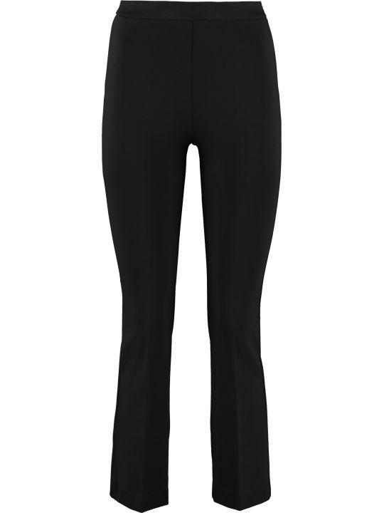 Jucca Flared Viscose Trousers