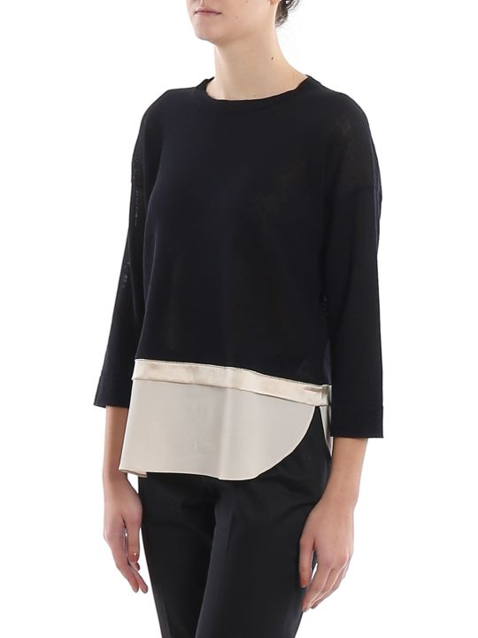 Peserico Point Light Embellished Sweater