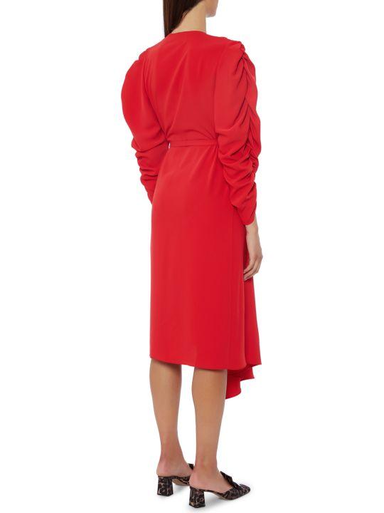 A.W.A.K.E. Mode Red Ring Dress