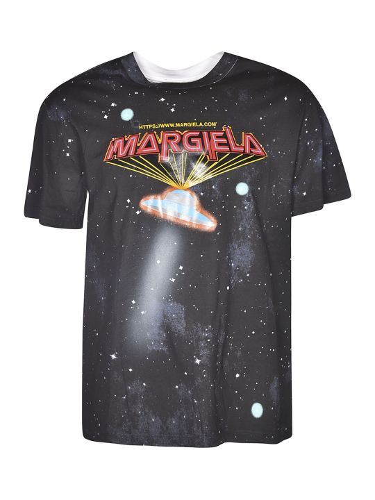 Maison Margiela Ufo Space Print T-shirt
