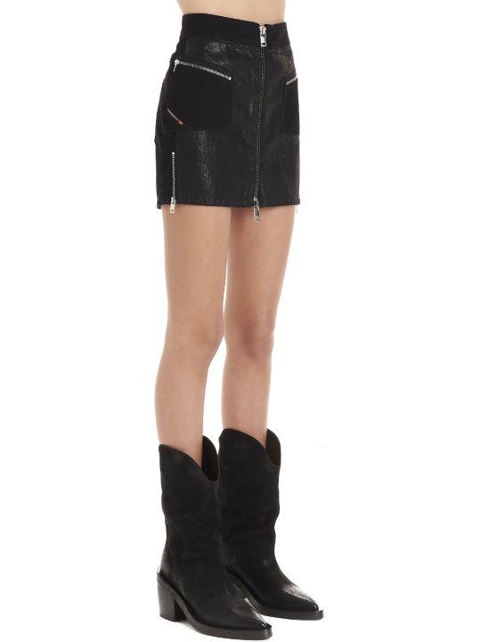 Diesel 'de-silka' Skirt