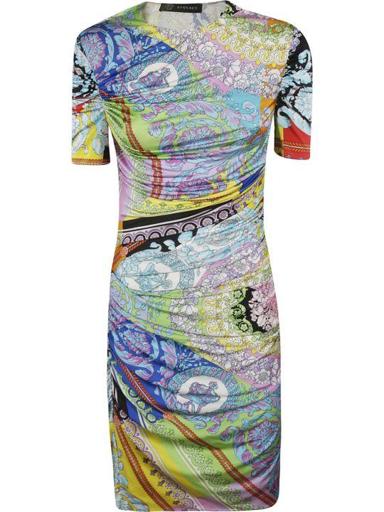 Versace Printed Dress