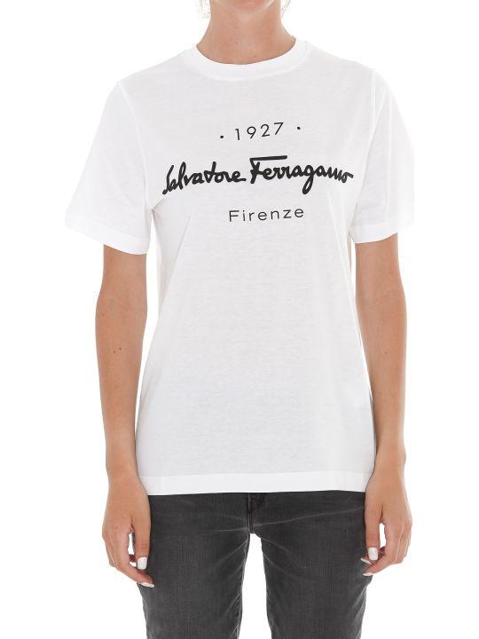 Salvatore Ferragamo Logo T-shirt