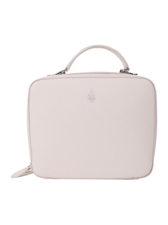 Mark Cross White Laura Bag