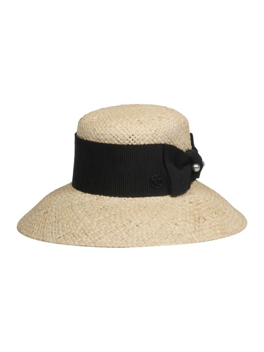Maison Michel New Kendall Raffia Cloche Hat