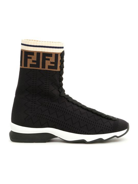 Fendi Ff Sock Sneakers