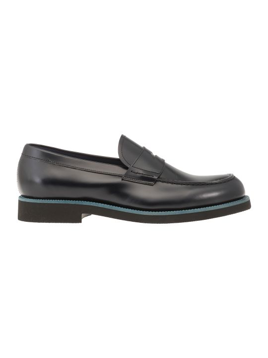 Green George Leather Loafer