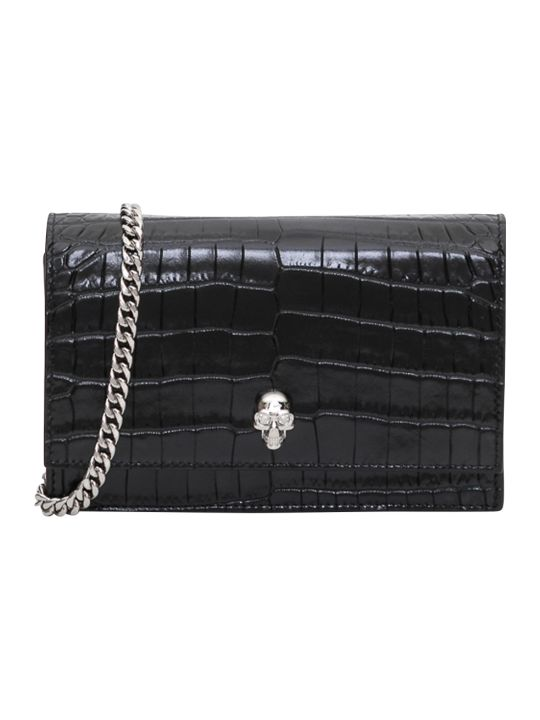 Alexander McQueen Skull Mini Bag Leather.