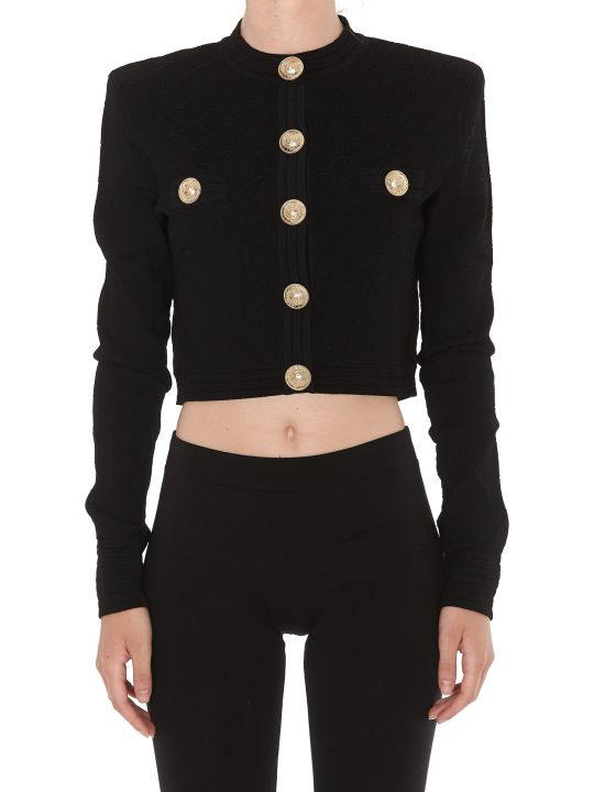 Balmain Diamond Cardigan