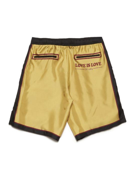 Dolce & Gabbana 'come Here' Shorts