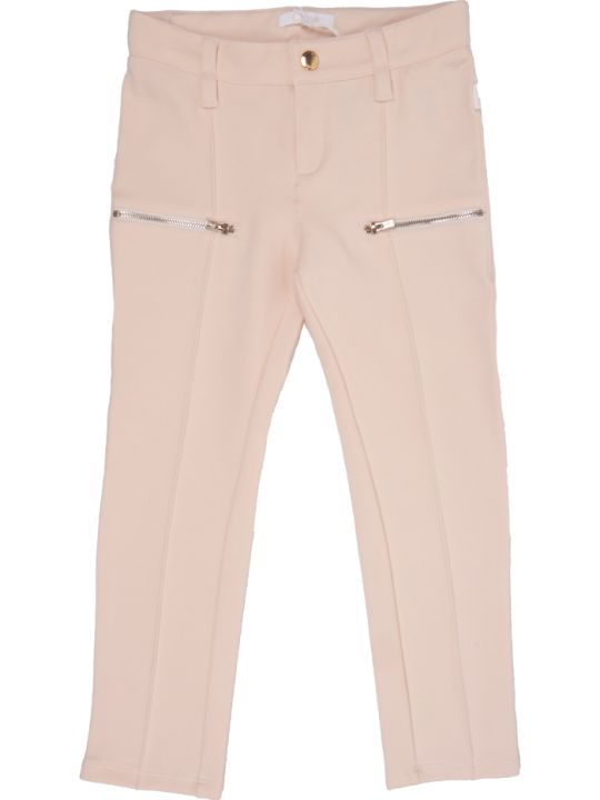 Chloé Zip Pocket Casual Trousers