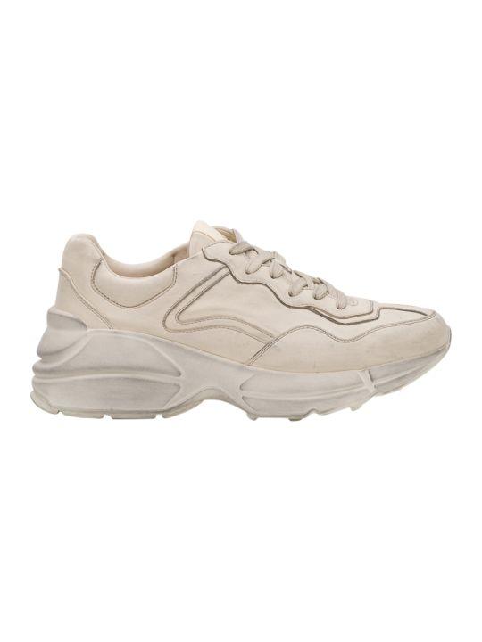 Gucci Ryton Sneaker In Pelle Liscia