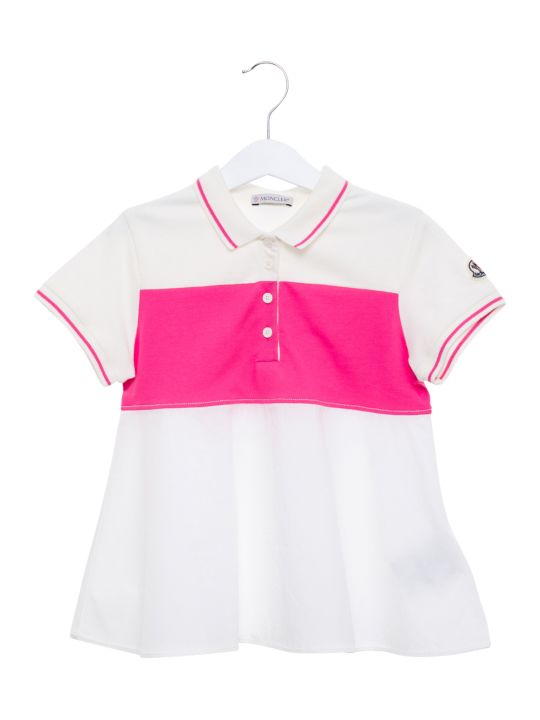 Moncler Color-block Piquet Mini Dress
