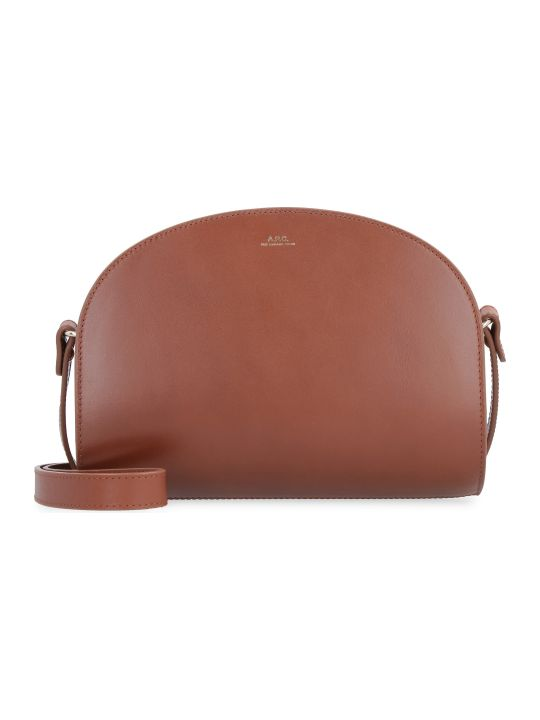 A.P.C. Leather Crossbody Bag