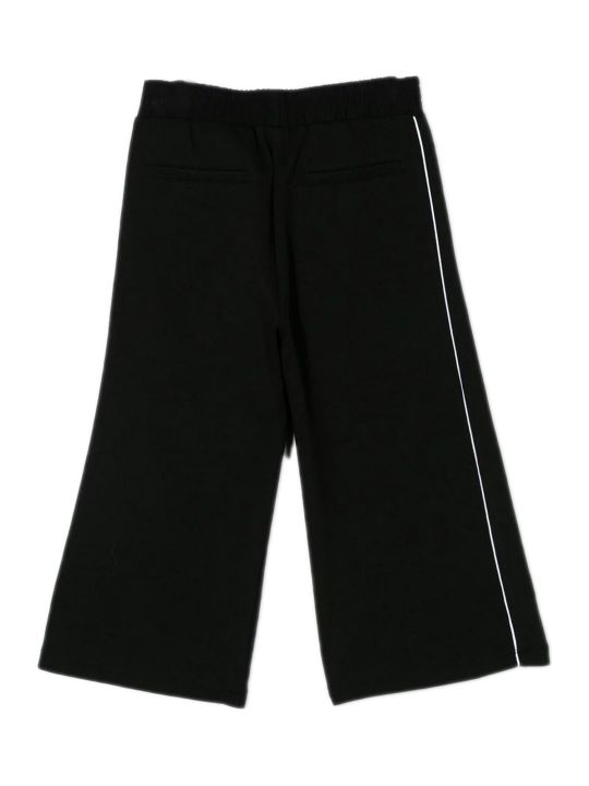 Givenchy Black Cotton Blend Trouser