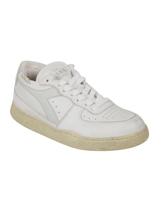 Diadora Heritage Mi Basket Row Cut Sneakers