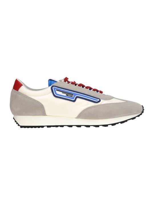 Prada Sneaker Scamosciato + Nylon
