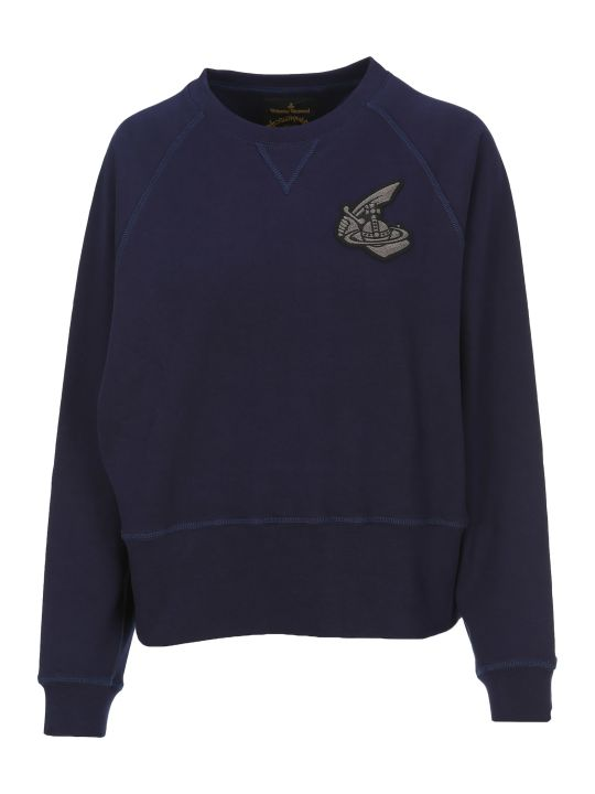 Vivienne Westwood Anglomania Anglomania Logo Patch Sweatshirt