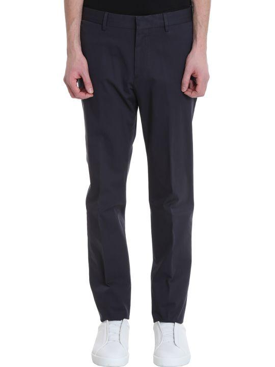 Ermenegildo Zegna Grey Cotton Pants