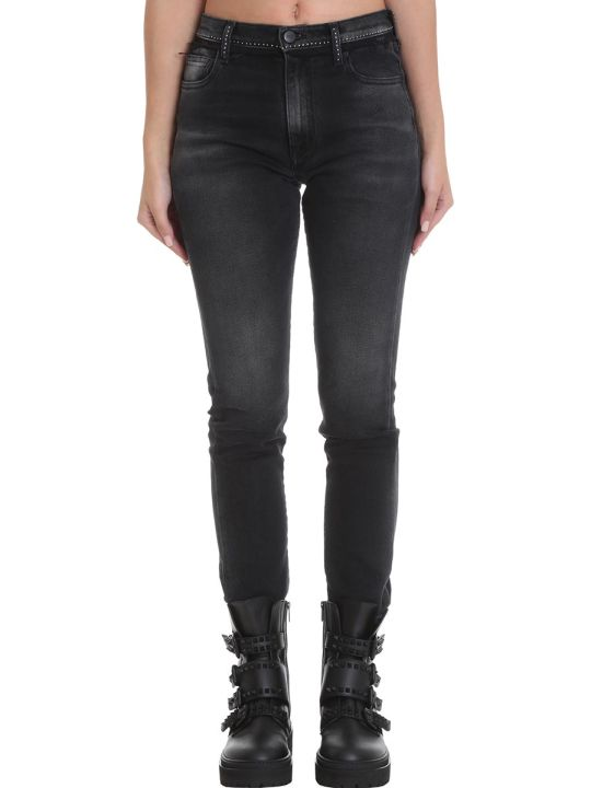 Marcelo Burlon Jeans In Black Denim