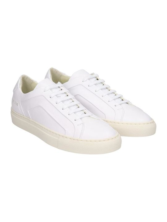 Common Projects Achilles  Sneakers In White Leather