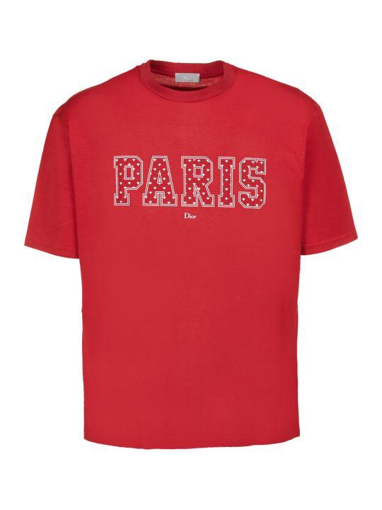 Dior Paris Print T-shirt