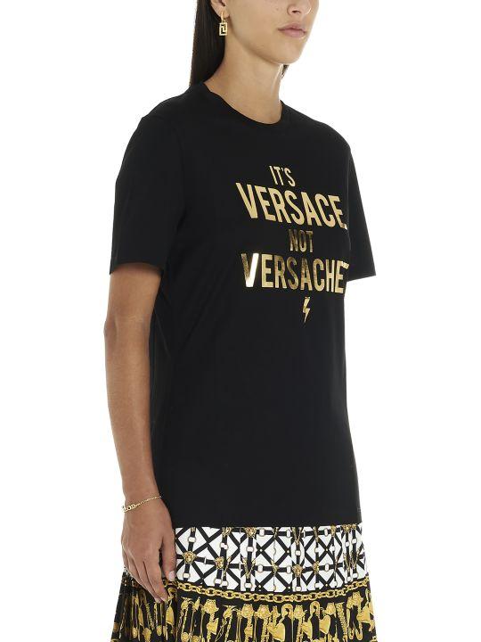 Versace 'it's Versace Not Versacee' T-shirt