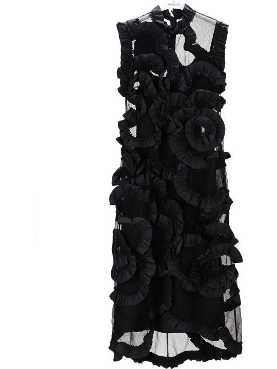 Moncler Genius Ruffled Tulle Dress