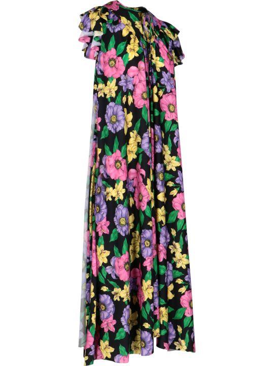 Balenciaga Long Floral Dress