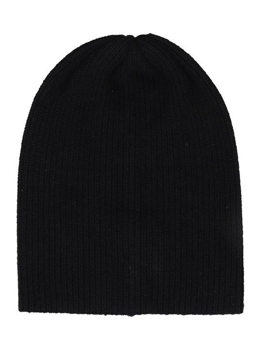 Laneus Black Wool Hat