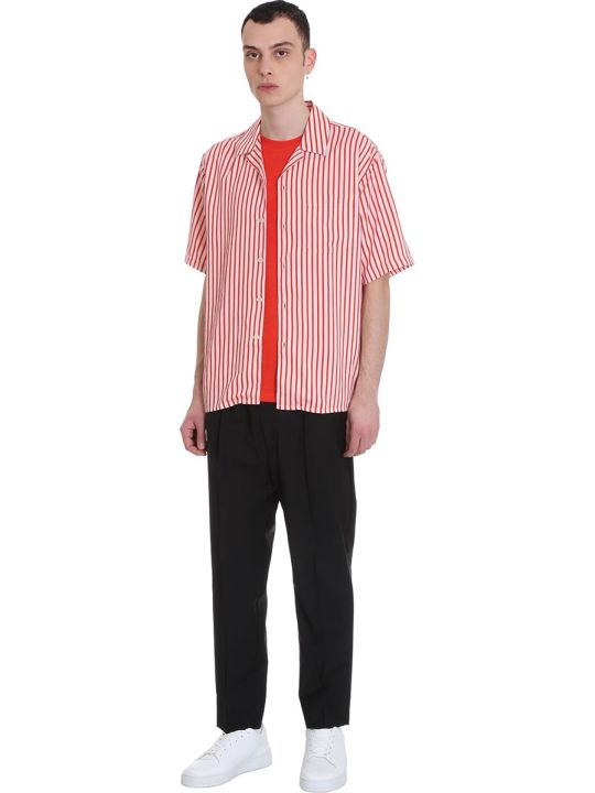 Ami Alexandre Mattiussi T-shirt In Red Cotton