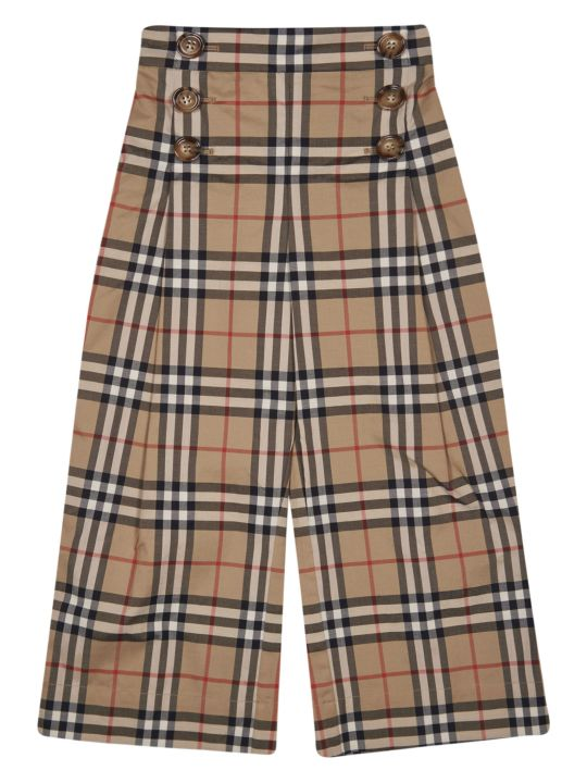 Burberry House Check Trousers