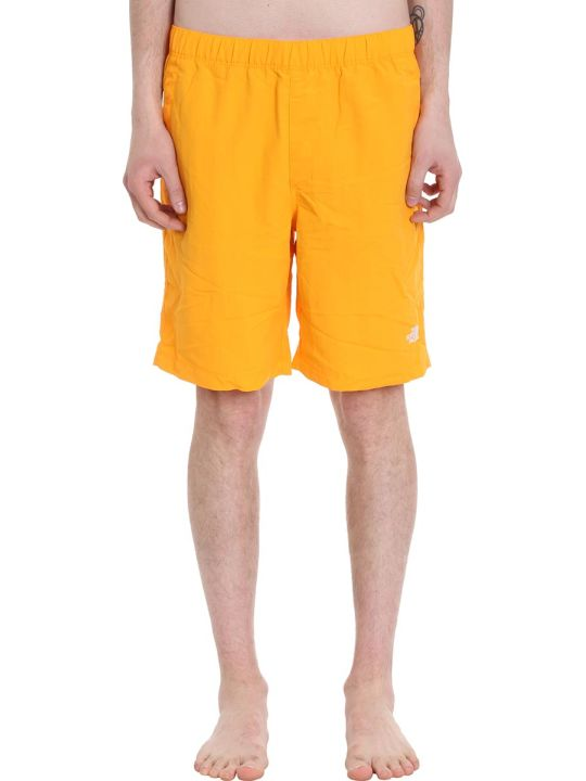 The North Face Shorts In Tessuto Giallo