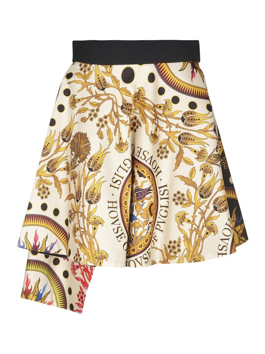 Fausto Puglisi Short Printed Skirt