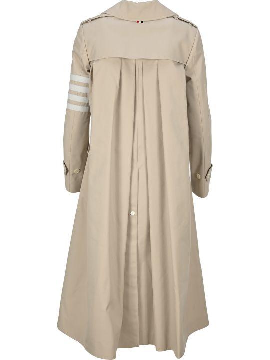 Thom Browne 4-bar Stripe Trench Coat