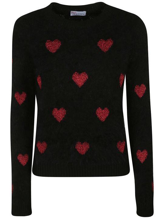 RED Valentino Heart Sweater